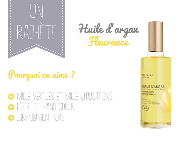 huile d'argan fleurance