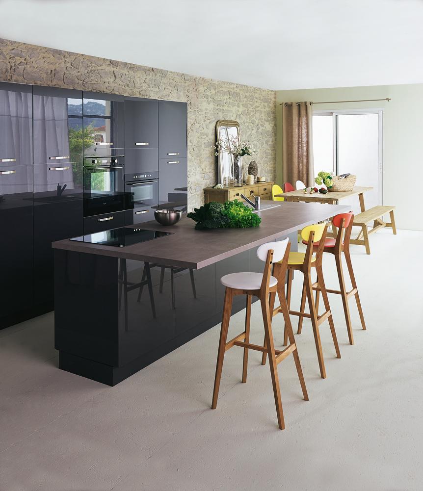 tabouret de bar alinea flytabouret de bar blanc with. Black Bedroom Furniture Sets. Home Design Ideas
