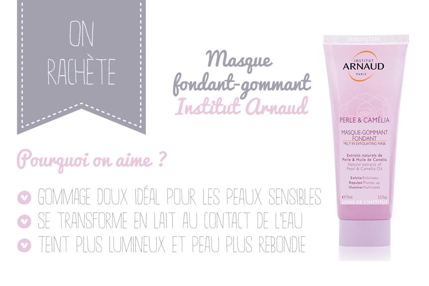 Masque gommant fondant Institut Arnaud