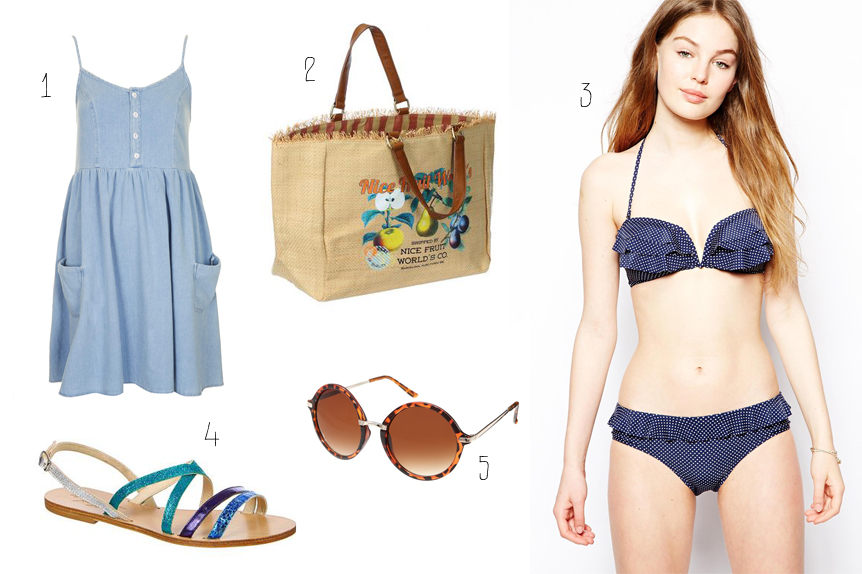 Sélection shopping - Mes envies pour les beaux jours