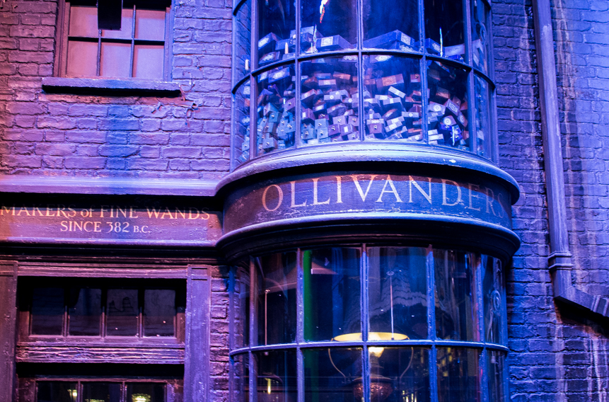 studios harry potter