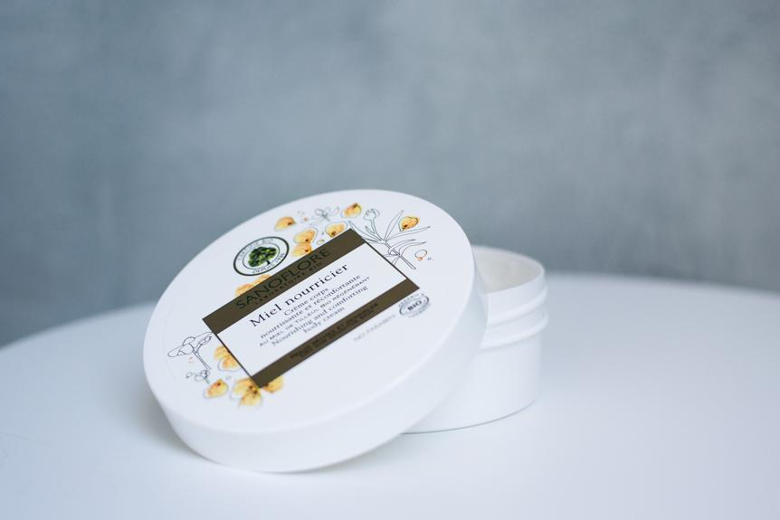 Miel nourricier crème corps nourrissante et réconfortante sanoflore
