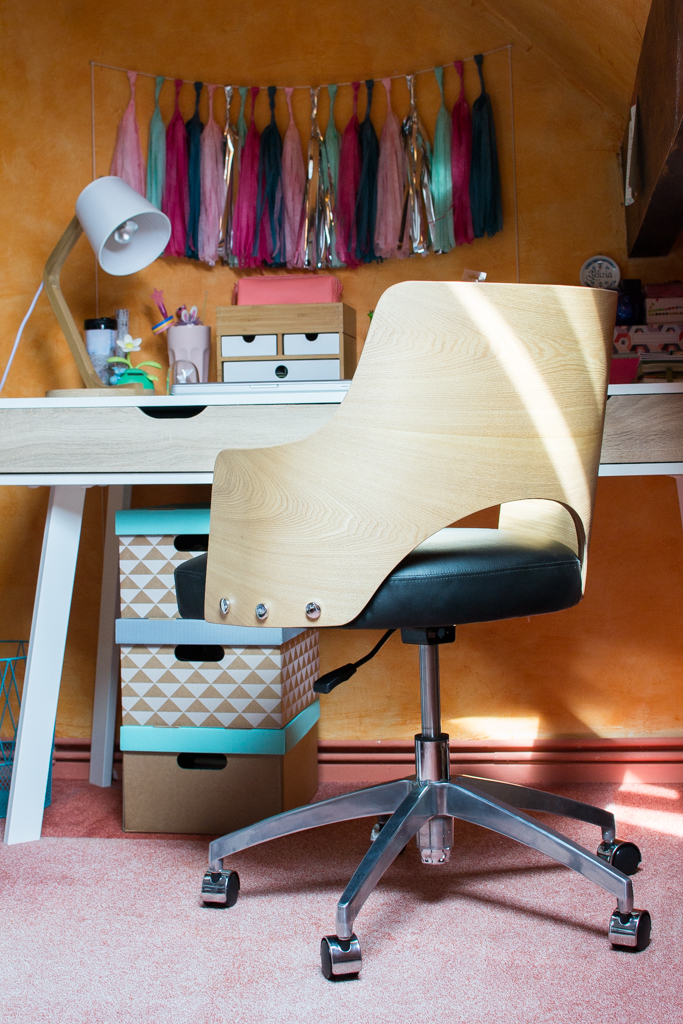 chaise bureau made