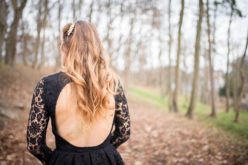 robe décolleté dos