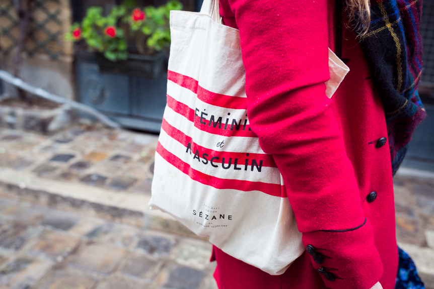 tote bag sezane paris