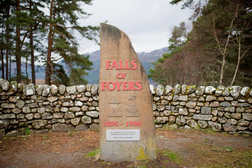 falls of foyers roadtrip en ecosse