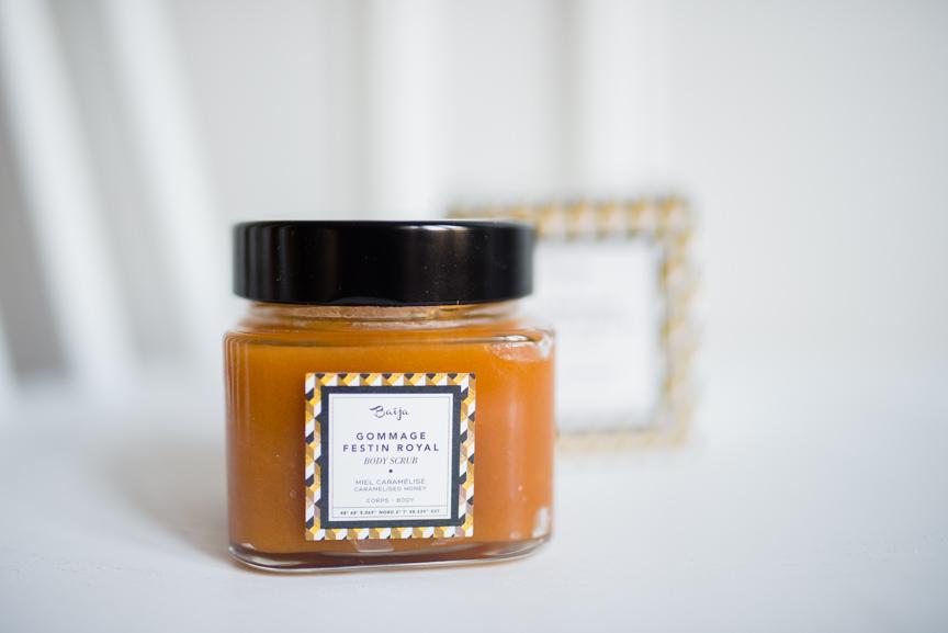 gommage miel caramélisé Baija