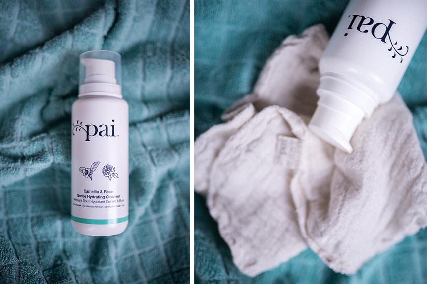 Nettoyant doux Pai Skincare démaquillant bio