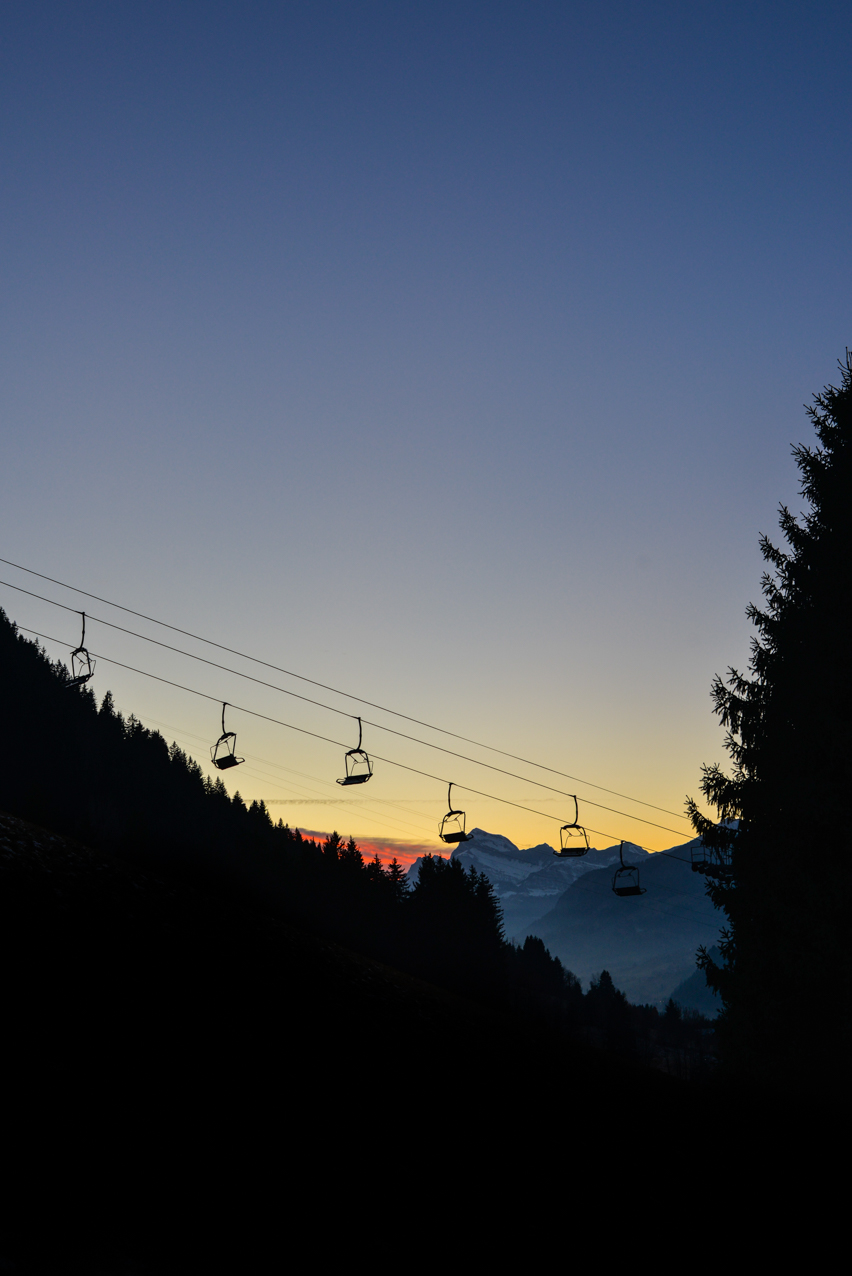 week-end à la montagne
