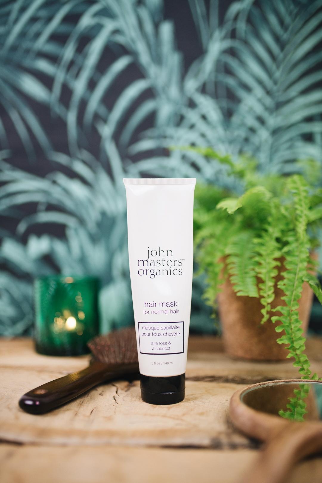 masque rose et abricot john master organics