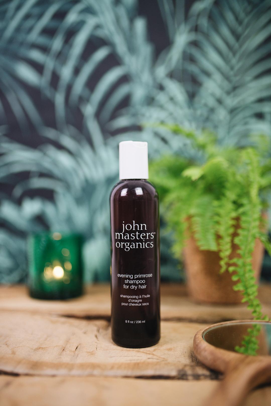 shampooing à l'huile d'onagre john master organics