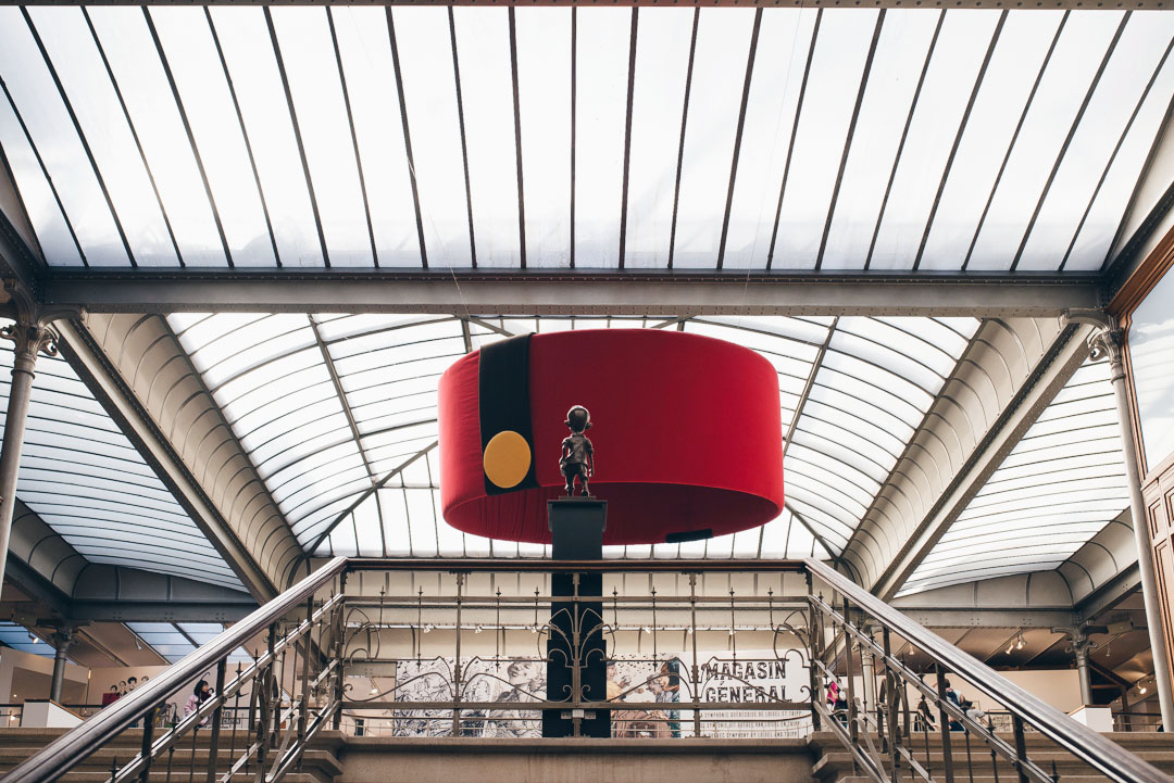 visiter Centre Belge de la Bande Dessinée