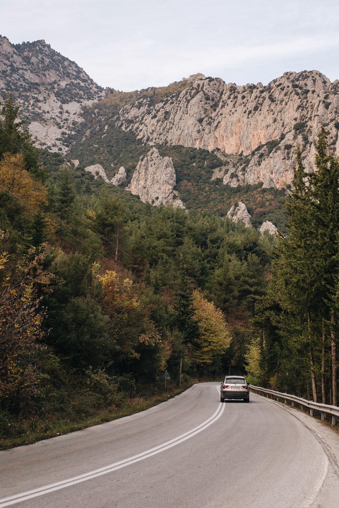 grèce automne