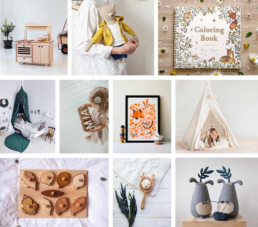 idées cadeaux Etsy Noël enfants
