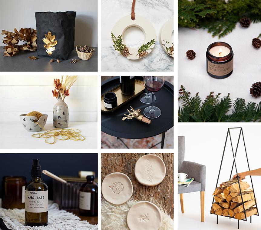 idées cadeaux Etsy Noël maison